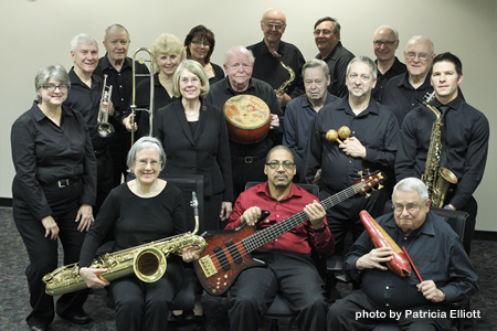 Official photo of Melody Masters Big Band by Patricia Elliott