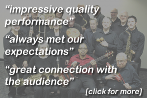 Image link to Testimonials for Melody Masters Big Band